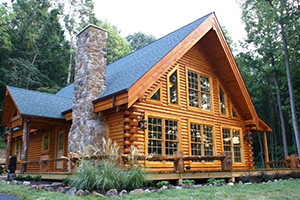 A Frame Log Home - Southland Log Homes