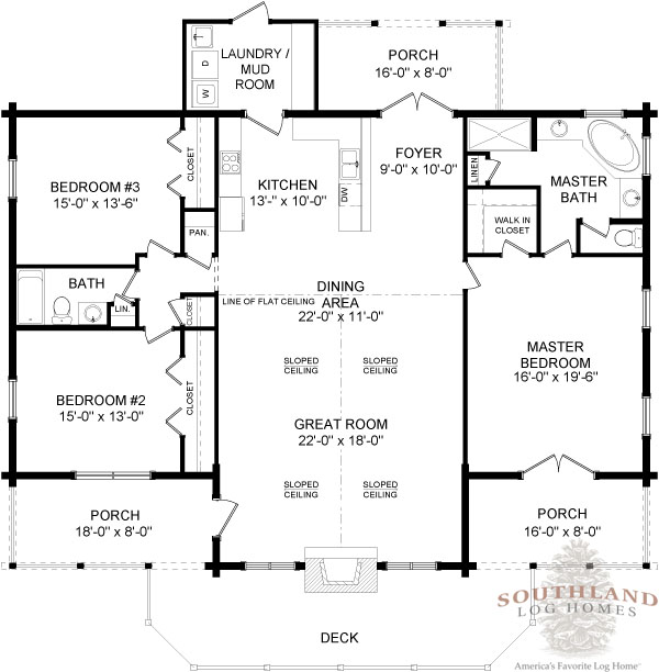 featured floorplan the adair southland log homes pin free house small cabin plans with loft small cabin