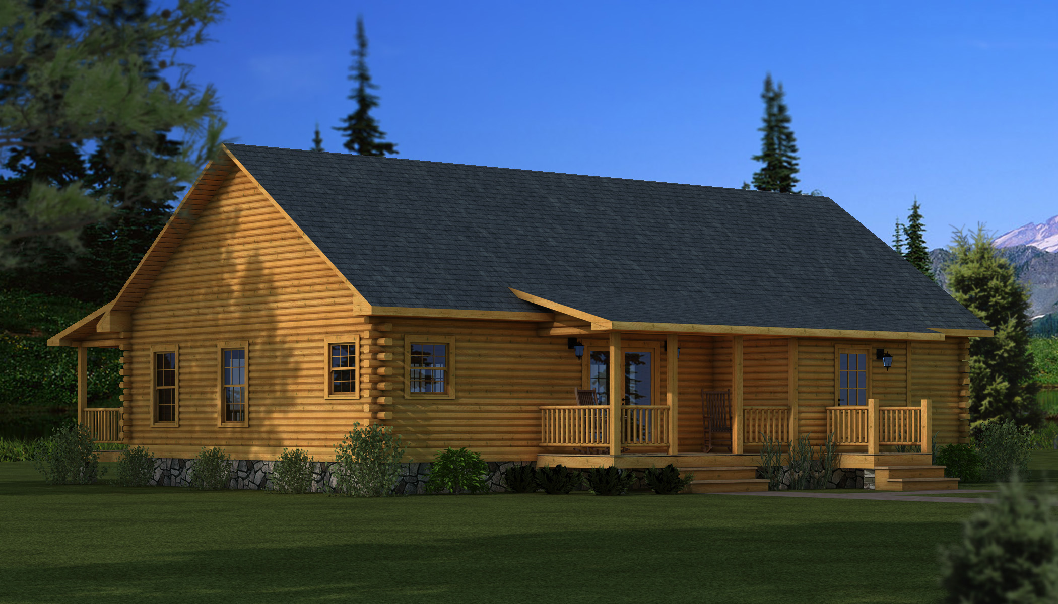 Adair Plans Information Southland Log Homes