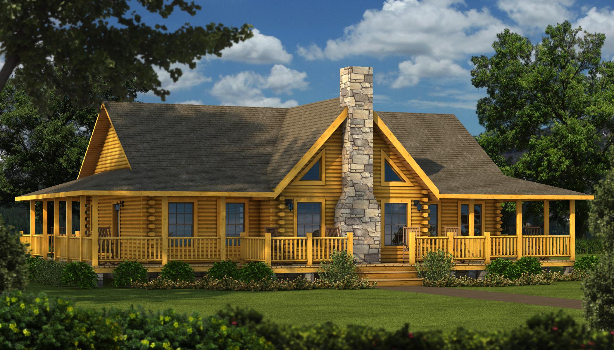 Bourbon Plans Information Southland Log Homes