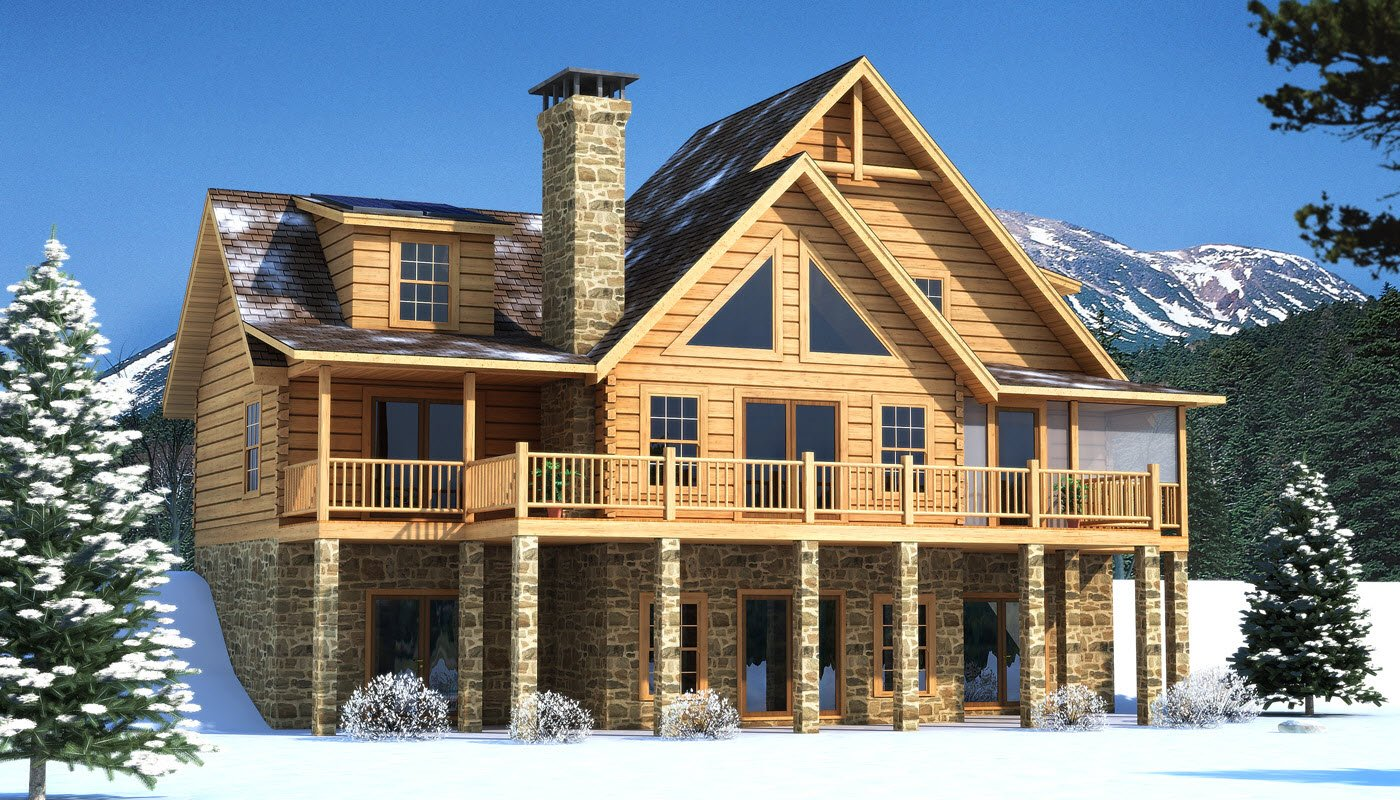 Brookestone Main Photo - Southland Log Homes