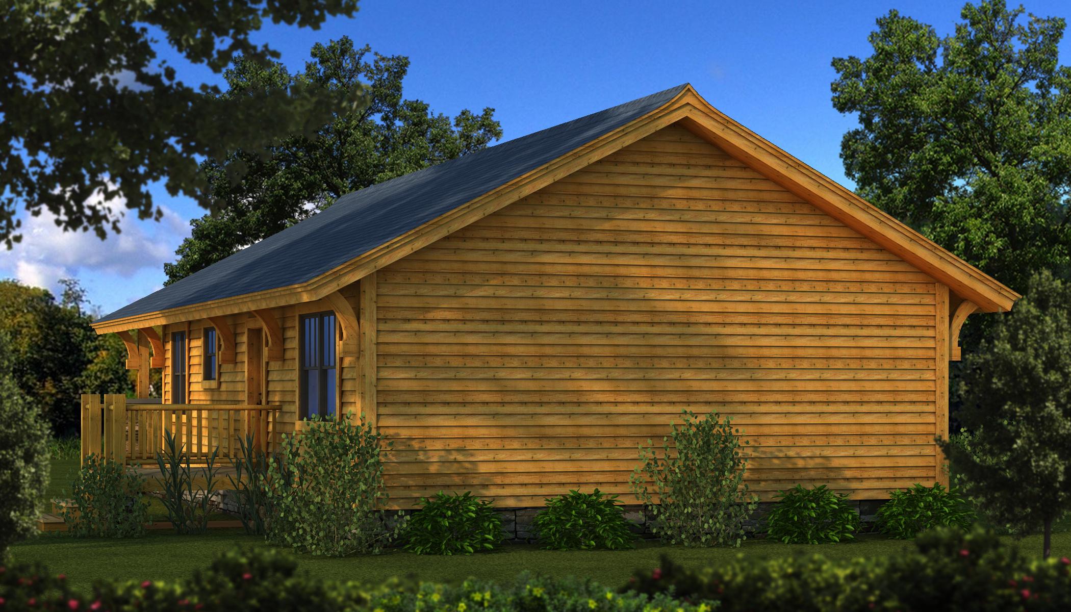 Log Cabin Bungalow : Bungalow plans information southland log homes