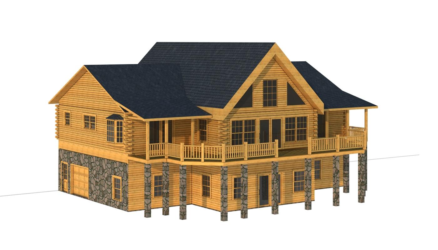 Burke Plans Information Southland Log Homes