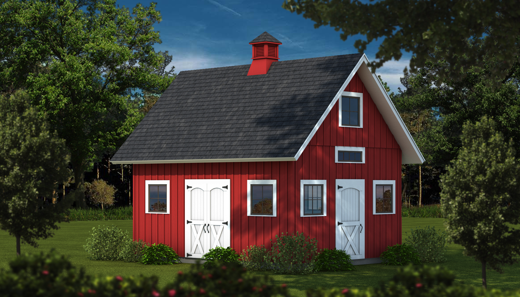 burlington pole barn kit