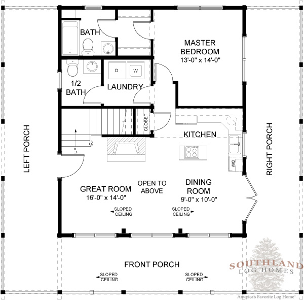 featured floorplan the carson southland log homes lodge log homes floor plans little log lodges log home