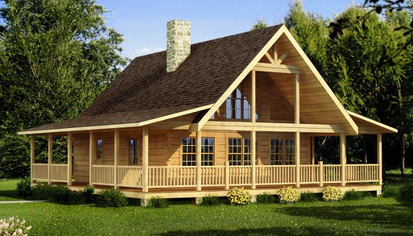 The Carson from Southland Log Homes