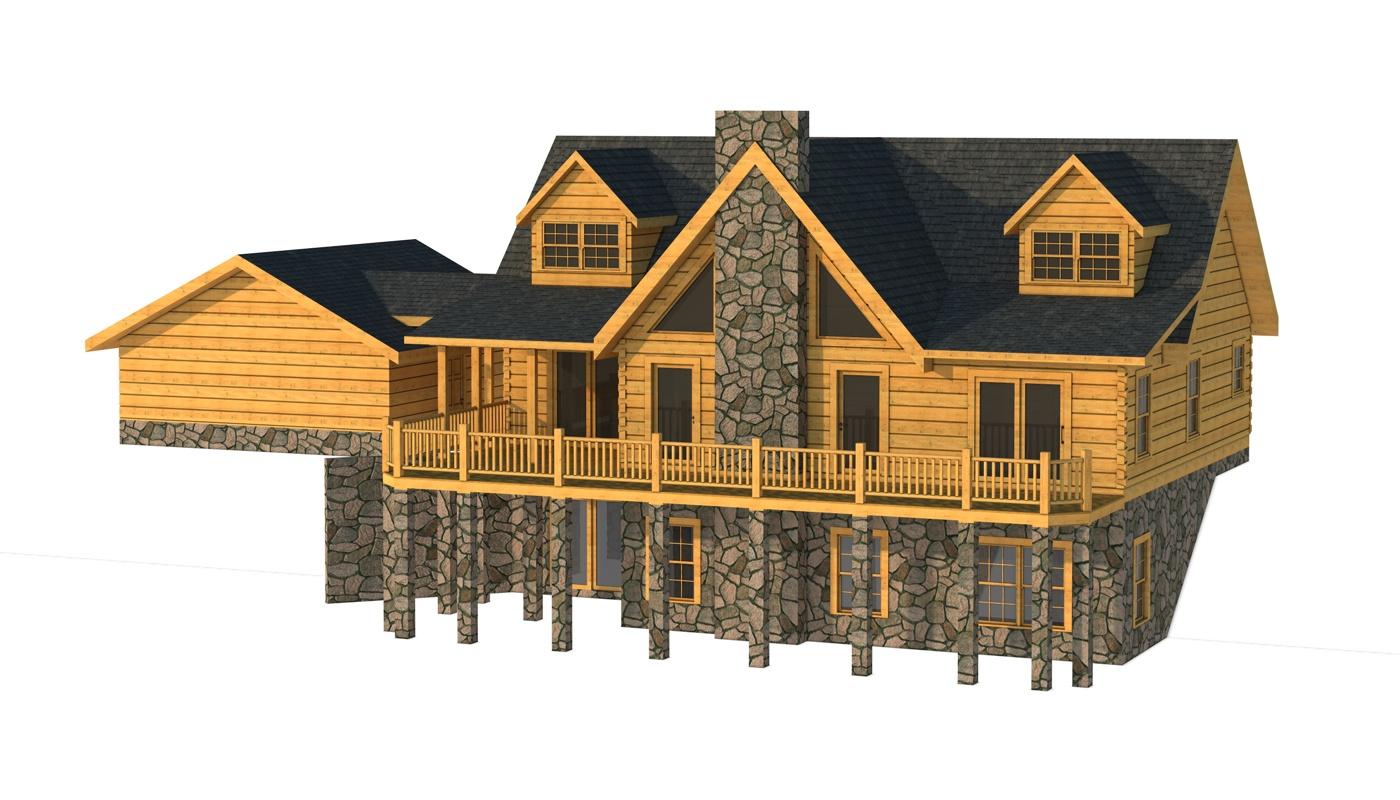 Carter Ii Plans Information Southland Log Homes