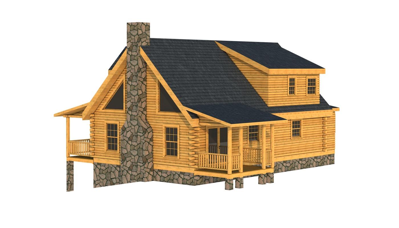 Carter I Plans Information Southland Log Homes