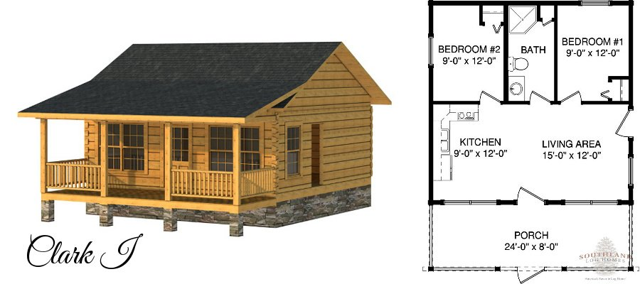 Tiny houses amp tiny log cabin plans southland log homes