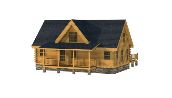 The Cullman from Southland Log Homes