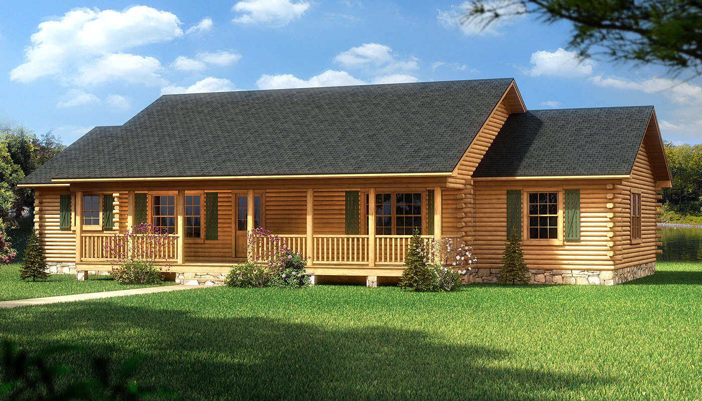 dauphin island plans information southland log homes. Black Bedroom Furniture Sets. Home Design Ideas