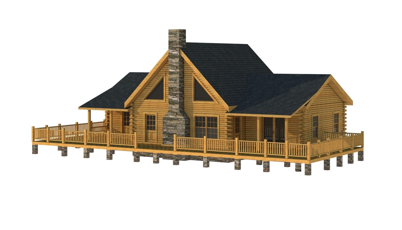 Dillon Main Photo - Southland Log Homes