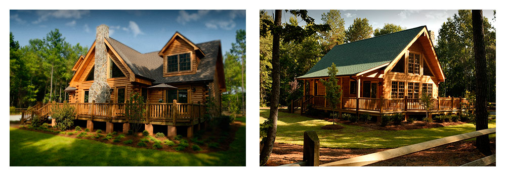 Log Homes & Log Cabin Kits - Exterior Photos
