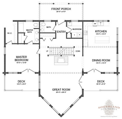 Adirondack Home Plans featured plan: the adirondack | southland log homes