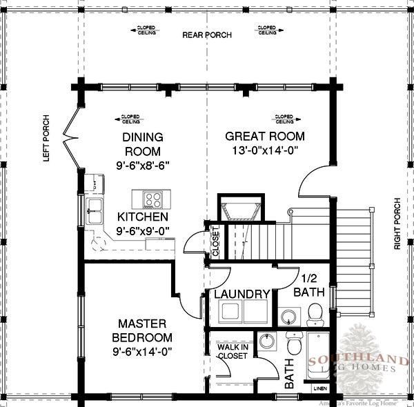 Fulton Plans Information Southland Log Homes