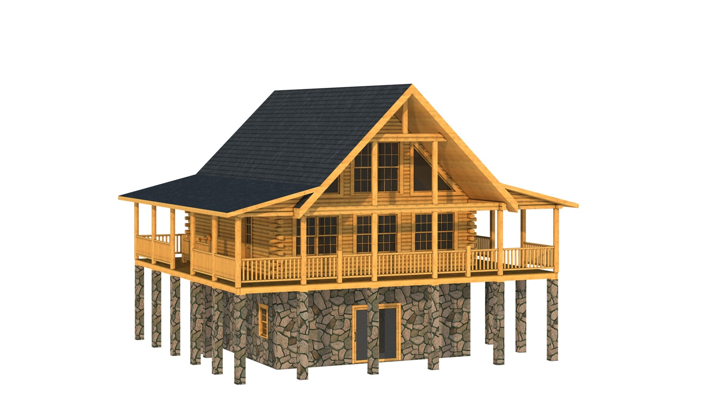 Free Log Cabin Floor Plans Image Mag
