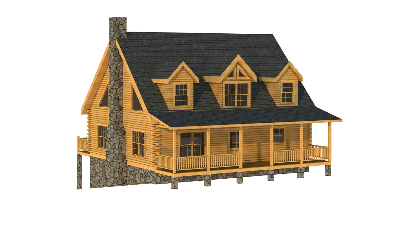 Wateree Iv Log Home Plan Get House Design Ideas