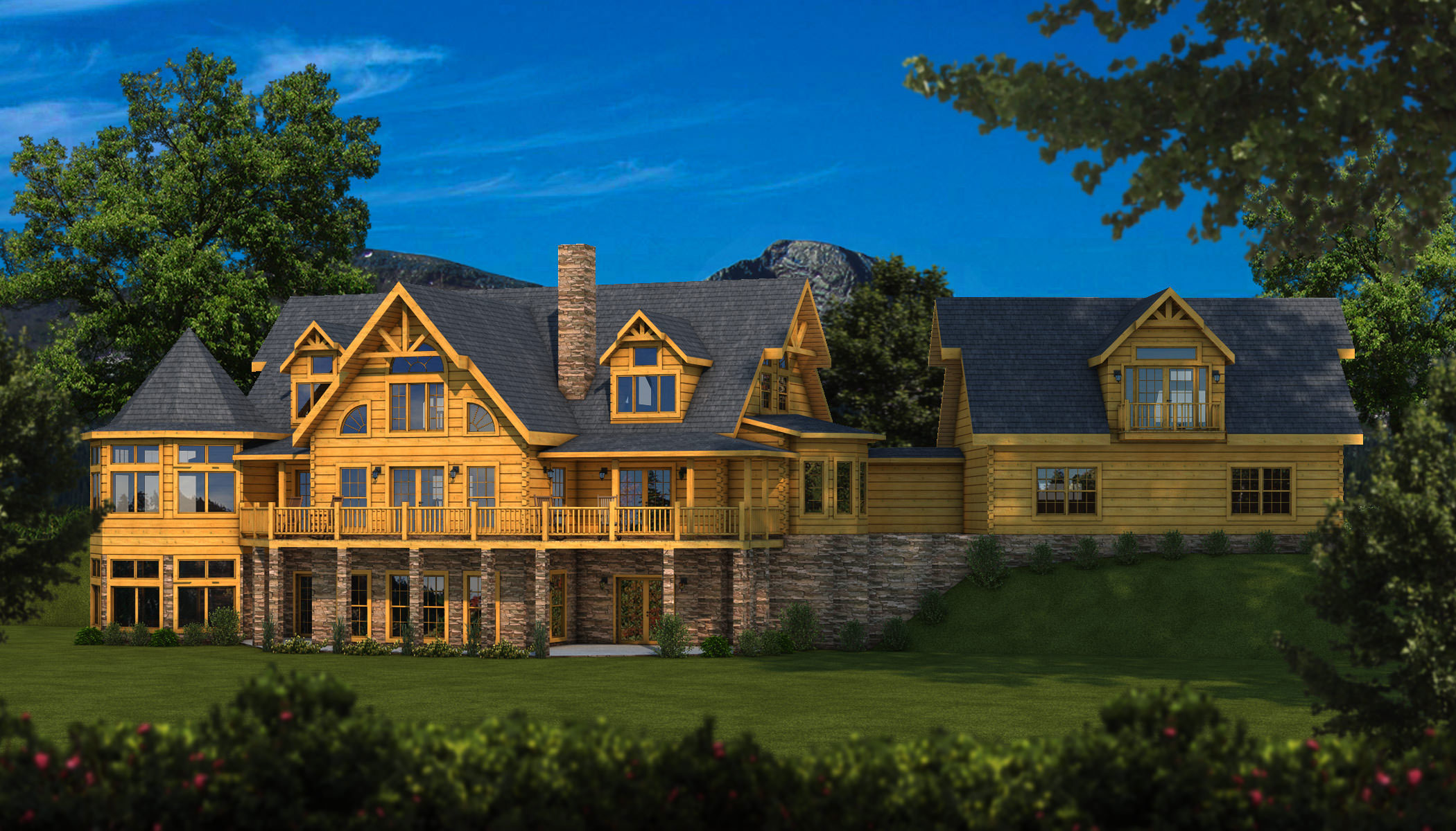 Grand View Plans Information Southland Log Homes: southland log homes