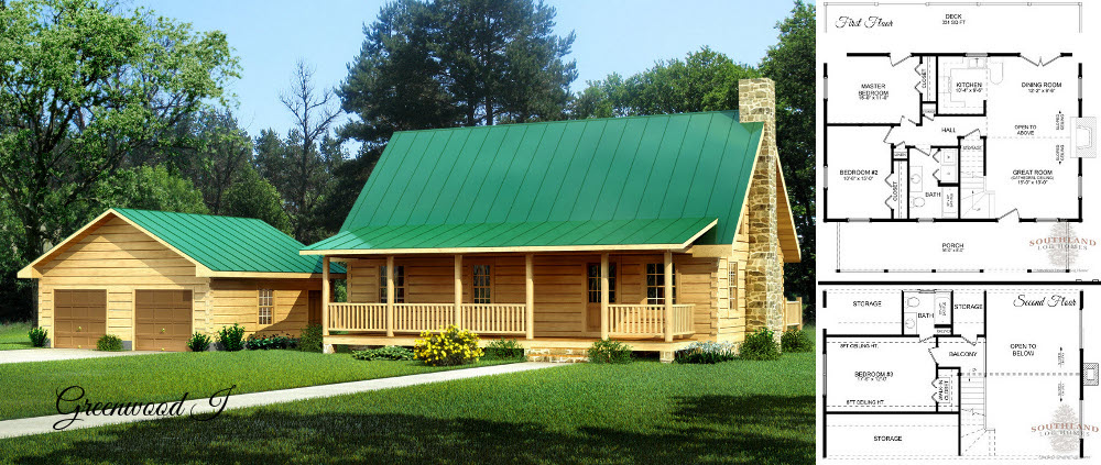 Small Log Homes amp Kits Southland