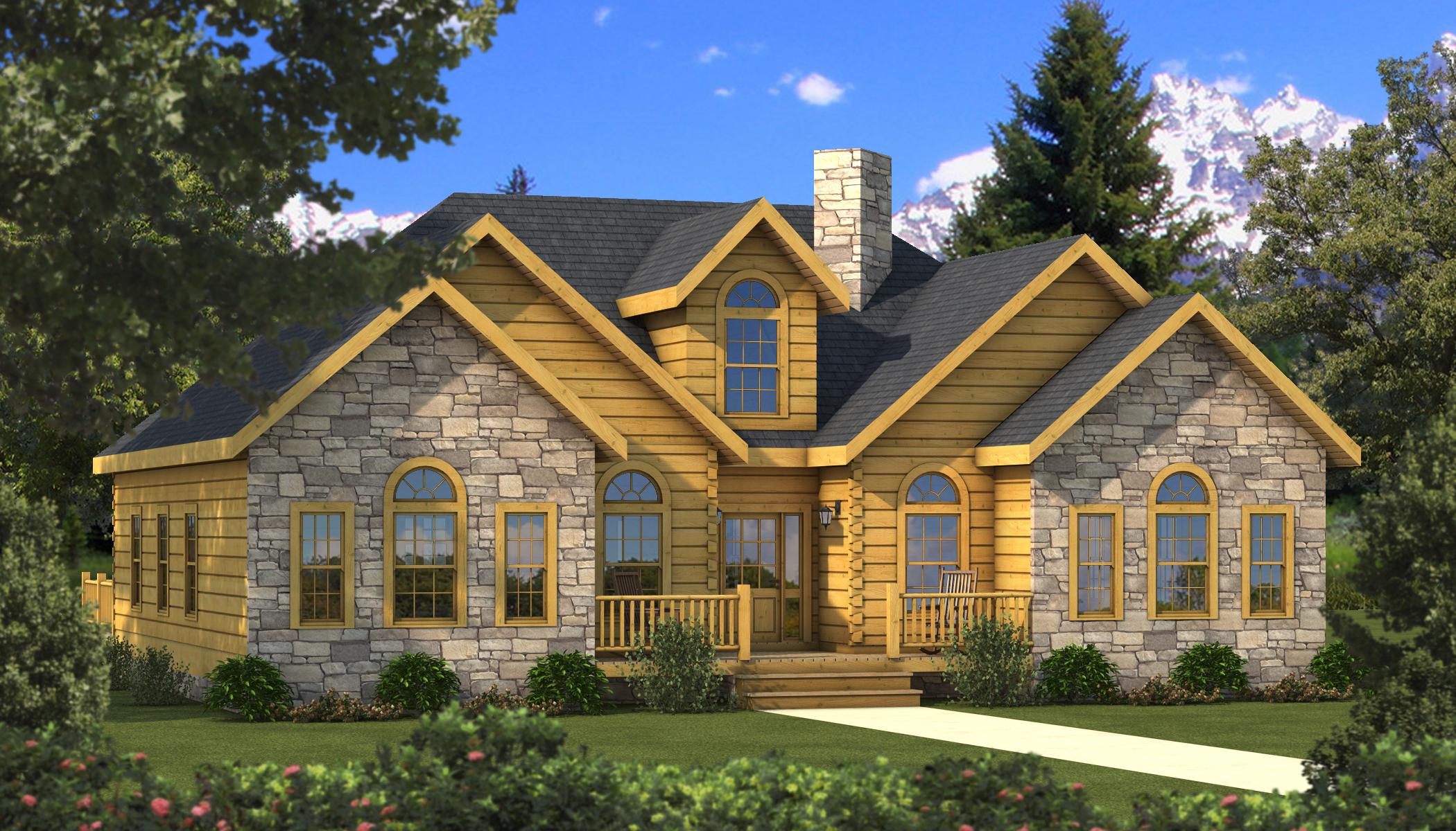 Halifax Main Photo - Southland Log Homes