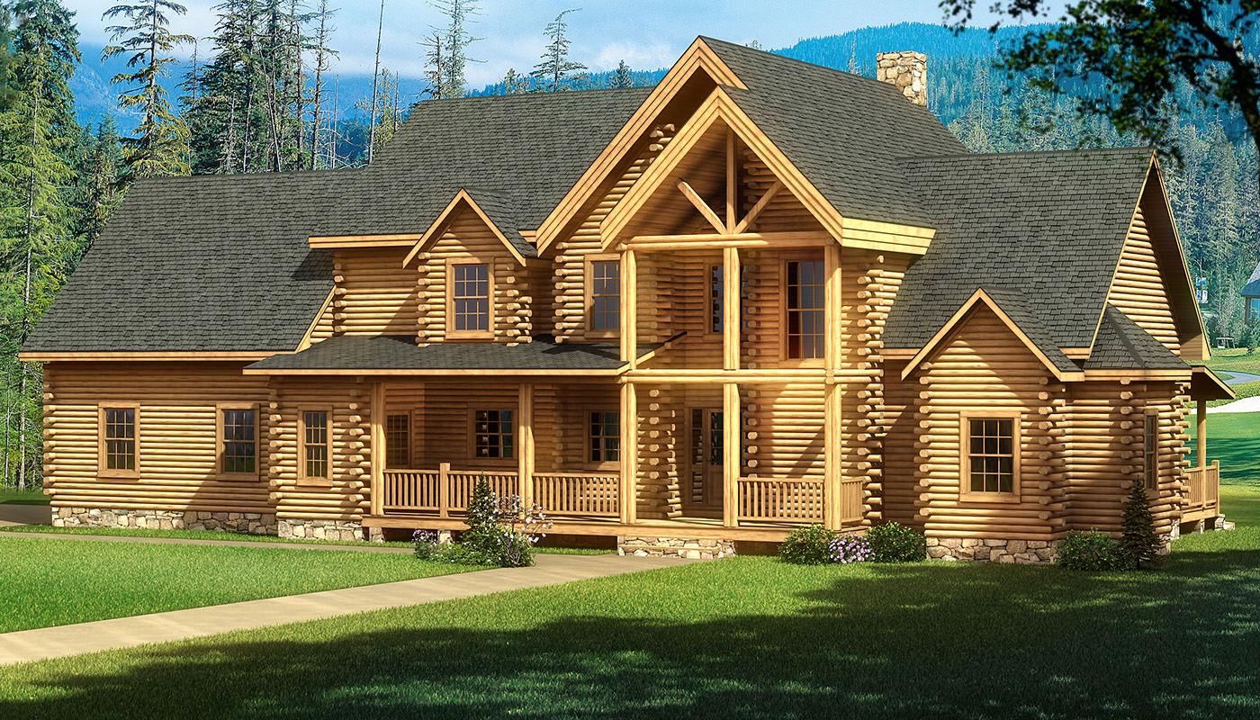Highland Log Home Plan Southland Log Homes