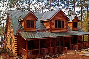Home in the Woods - Southland Log Homes