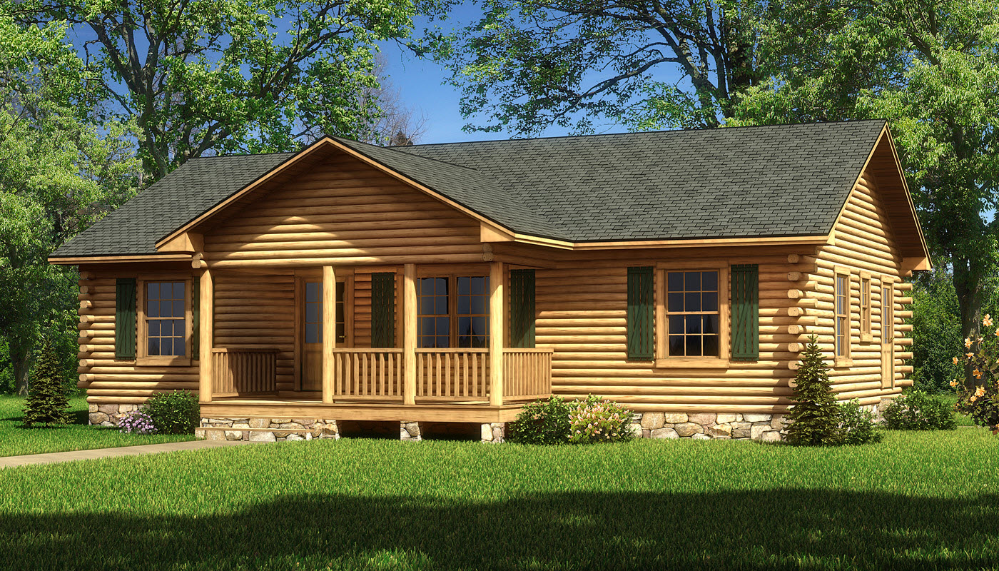 Lafayette Plans Information Southland Log Homes
