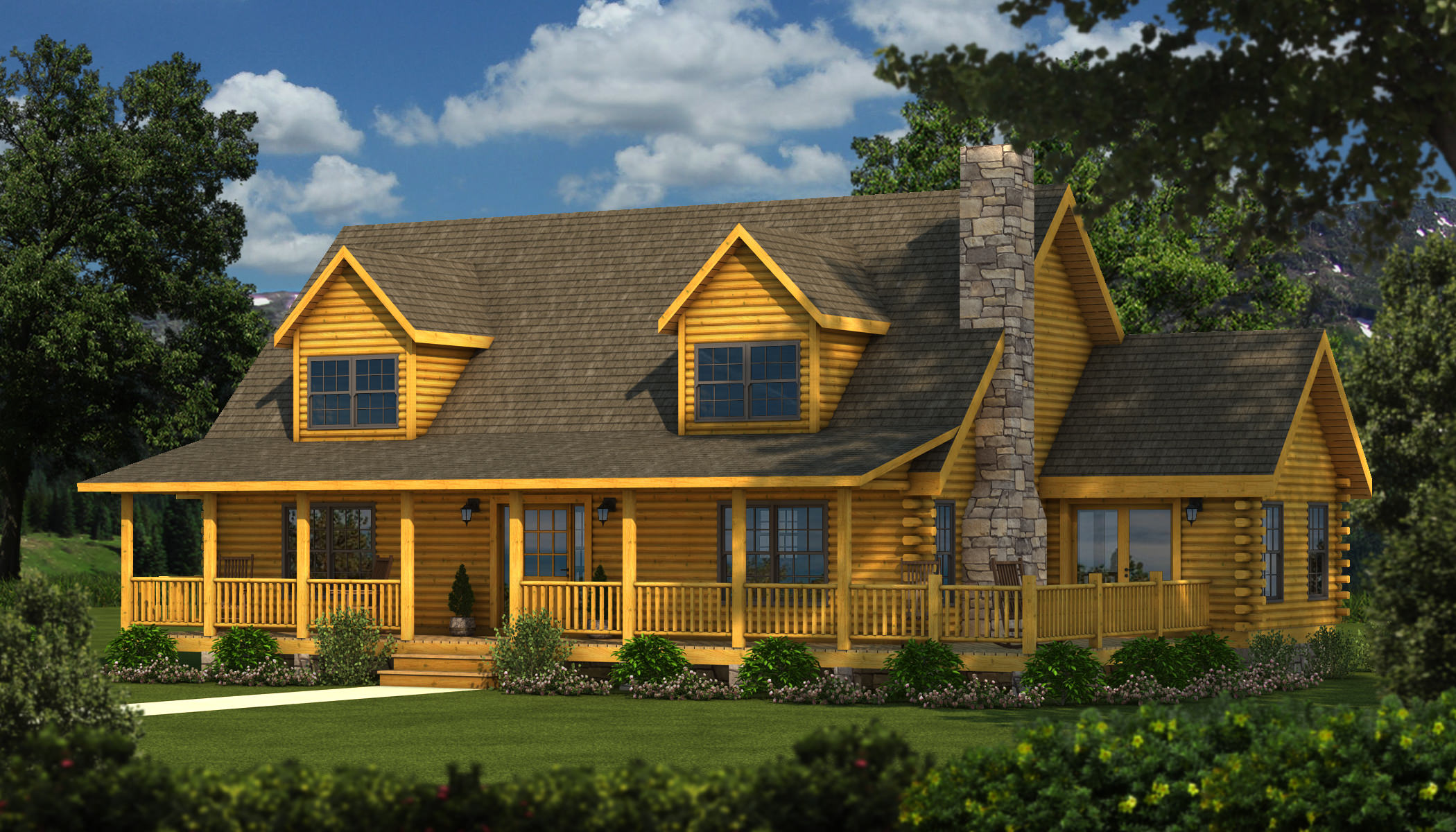 Lake City Fl Log Homes And Log Cabin Kits Southland