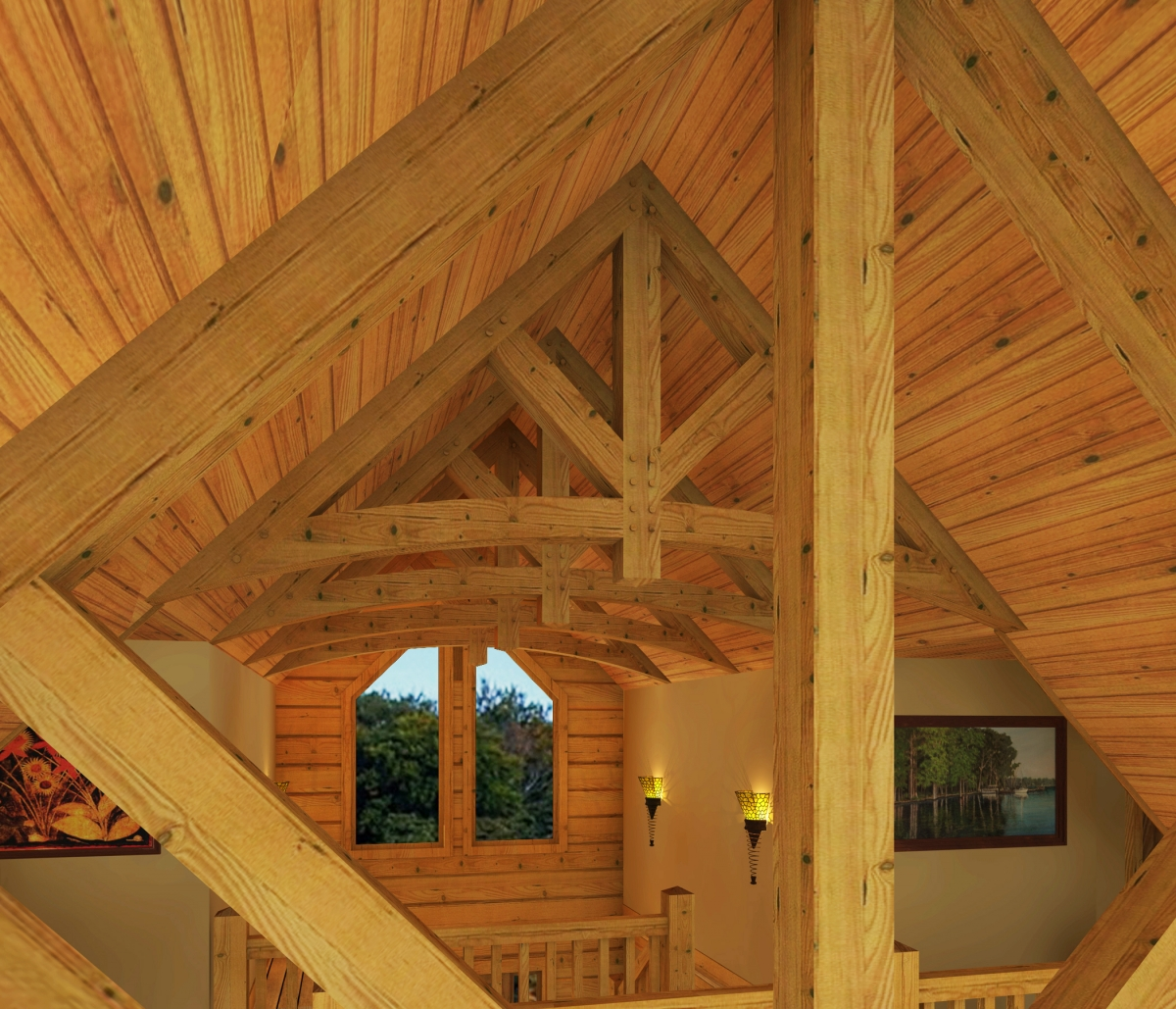 Timber Frame Homes - Southland Log Homes