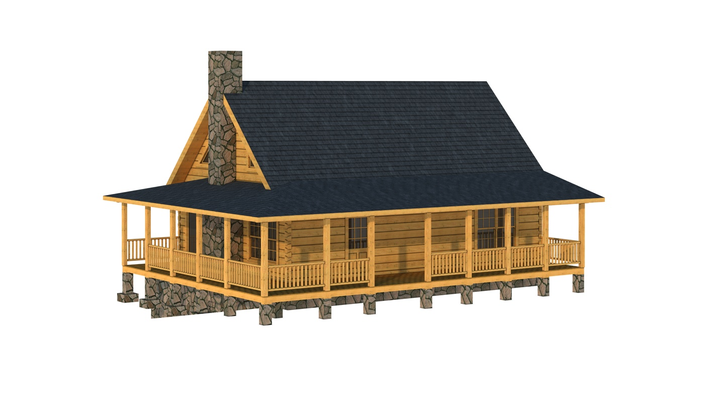 Amazing photo of Log Cabin Home Plans with #BC740F color and 1400x800 pixels