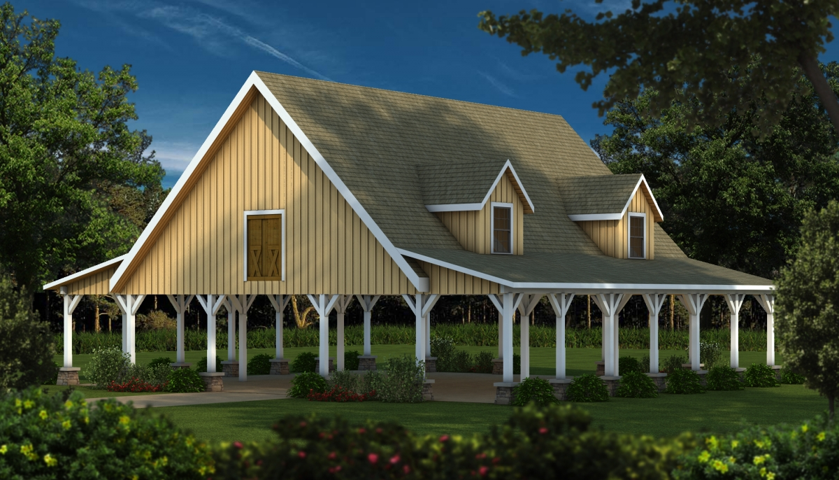 Timber Frame Wood Barn Plans Kits Southland Log Homes
