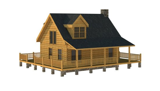 The Putnam from Southland Log Homes