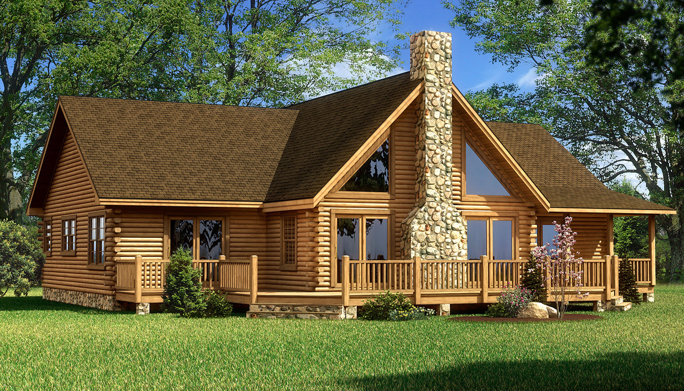 Red River - Plans & Information | Southland Log Homes