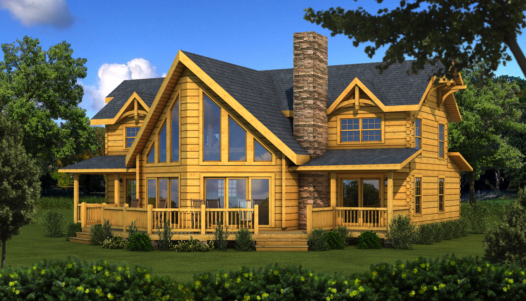 Timber frame homes and floor plans southland log homes Timber house