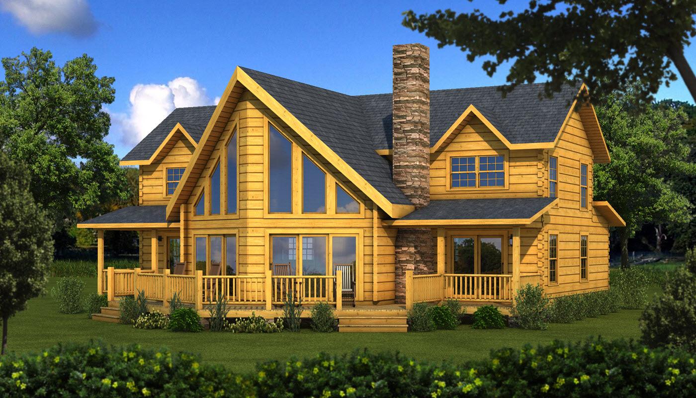 River Rock Plans Information Southland Log Homes