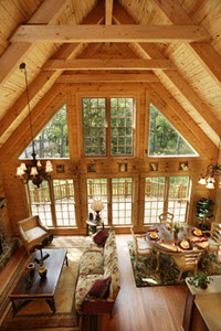 Log Cabin Homes: Rockbridge