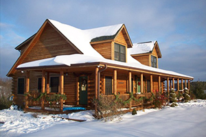 Snow Home - Southland Log Homes