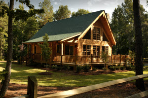 Southland Log Homes - Rockbridge Exterior