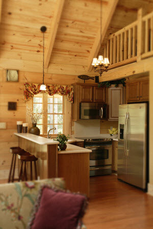 Southland Log Homes Rockbridge Interior