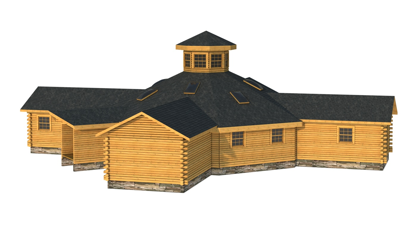 Floor Front Elevation Zip : Tuscaloosa plans information southland log homes