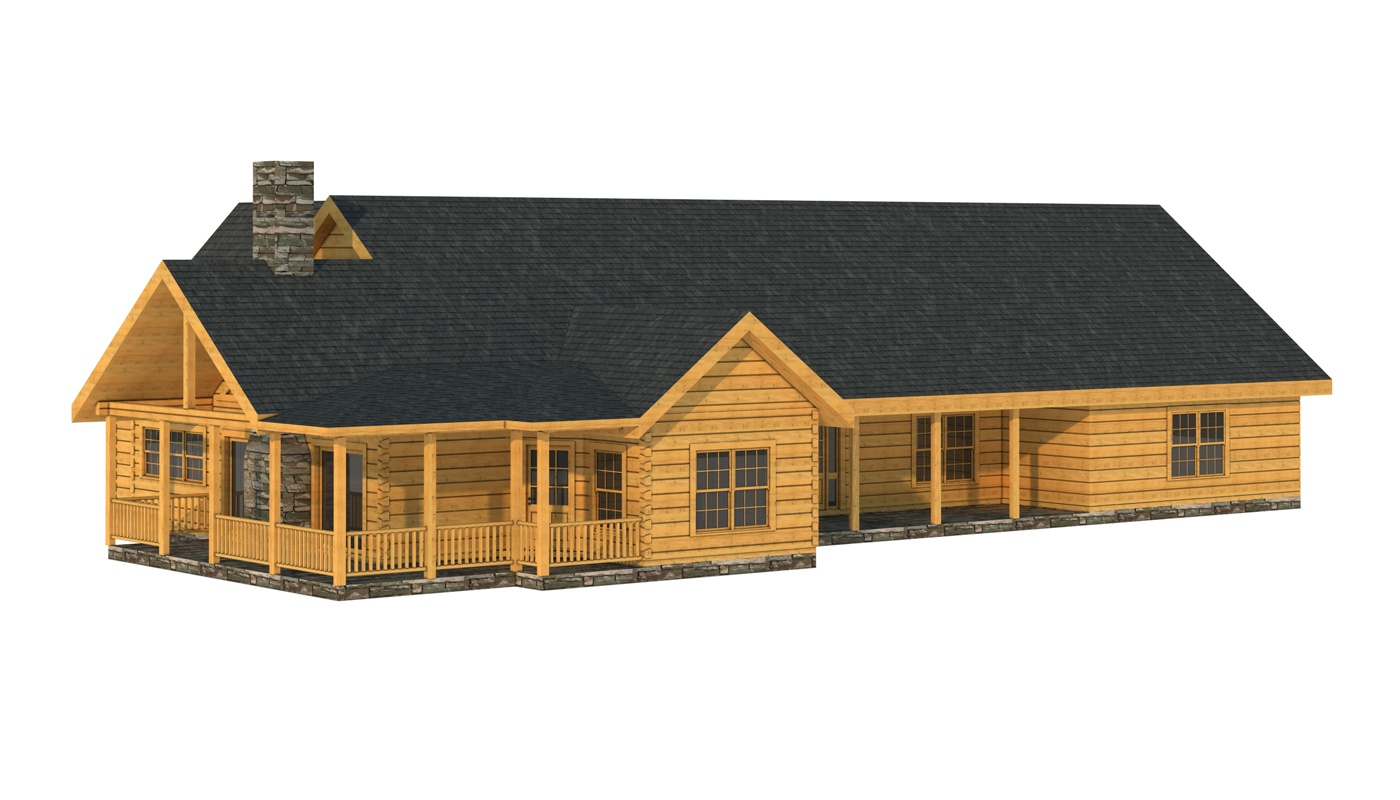 White Plans Information Southland Log Homes