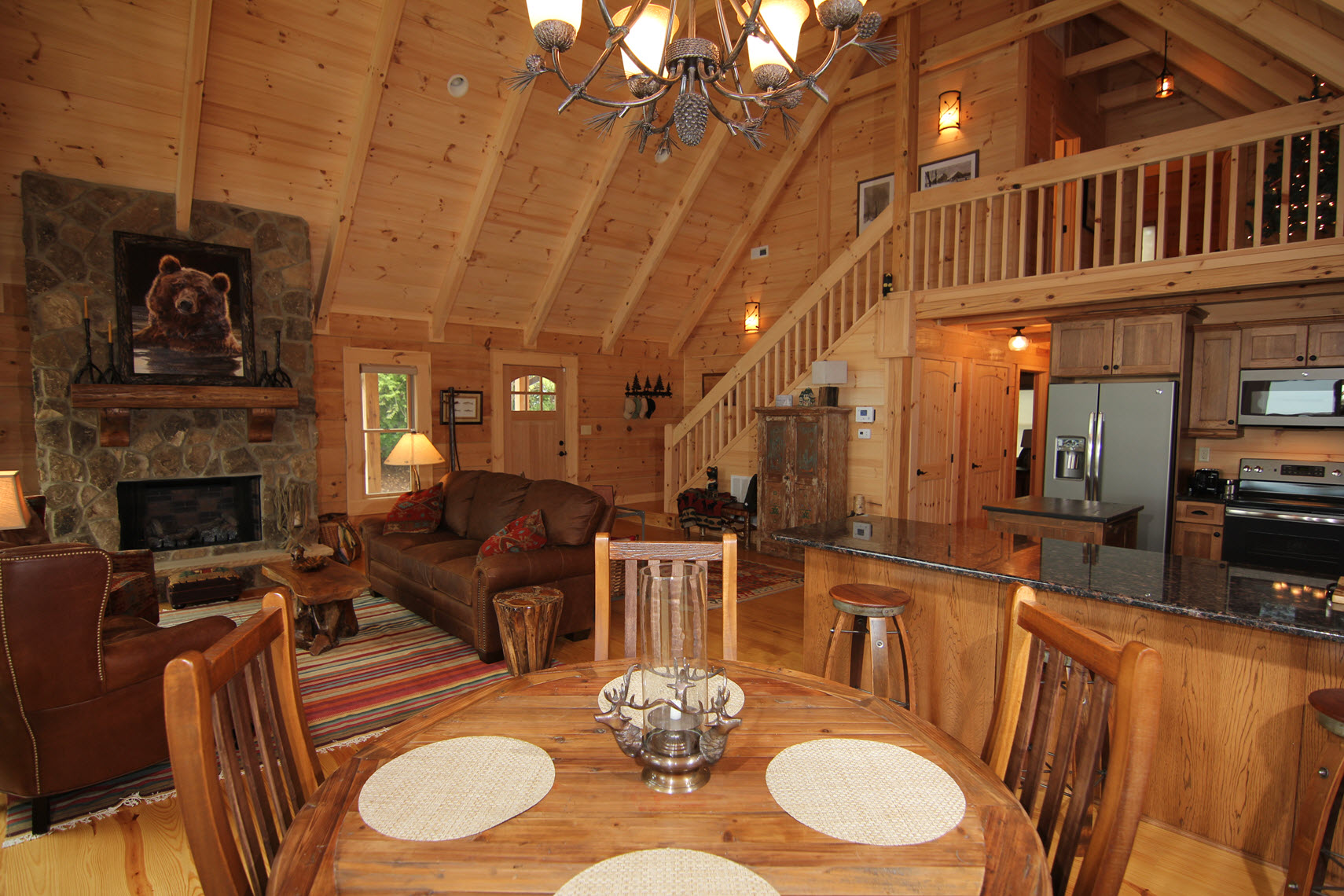 ... Southland Log Home Photos U0026 Pictures | Rockbridge 2 ...