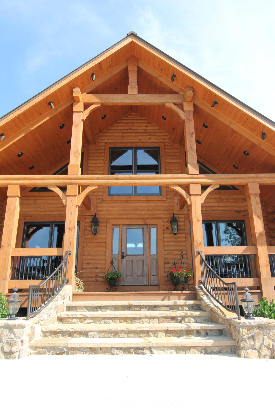 Longleaf Lodge Photos Southland Log Homes