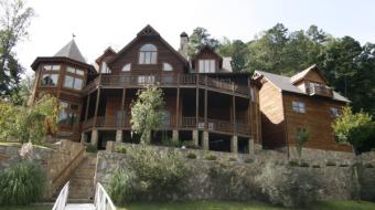 log cabin photos