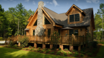 log home pictures