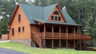 Southland Log Home Photos & Pictures | Custom 001
