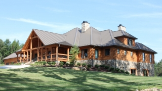 Southland Log Home Photos & Pictures | Longleaf Lodge 002