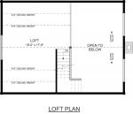 Alpine II Second Floor - Southland Log Homes