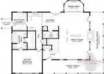 Camden First Floor - Southland Log Homes