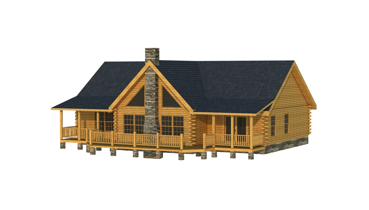 Adair II Plans Information Southland Log Homes